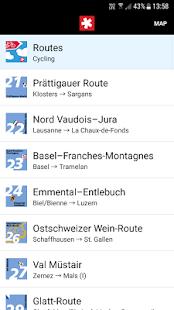 SwitzerlandMobility - náhled