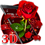 3D valentine love rose theme file APK Free for PC, smart TV Download