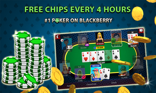 free poker game download for blackberry