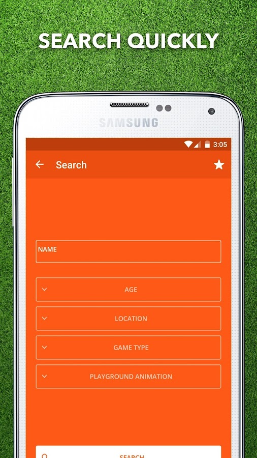 Games App- screenshot
