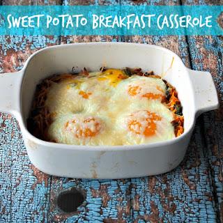 Sweet Potato Breakfast Casserole.
