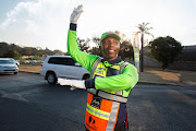 The City of Joburg says it is currently in talks with the service provider of the OUTsurance traffic pointsmen with the intention of having them back on the city's roads.
