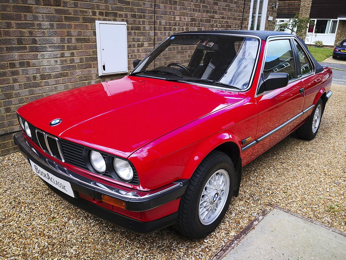 BMW 320i Baur Convertible Hire Cambridge