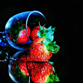 Strawberry by Mariusz Murawski - Food & Drink Fruits & Vegetables ( #strawberry, #desert, #food, #fruits,  )