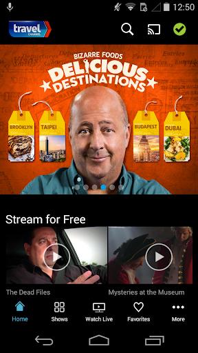 Travel Channel Screenshot