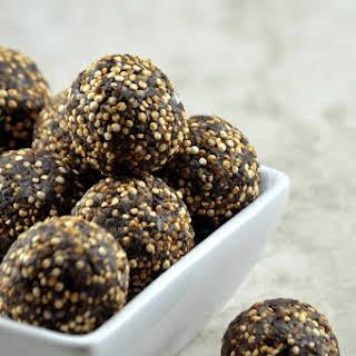 Chocolate Quinoa Fudge Balls.