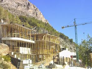 Photo: Perspectiva general de las obras.