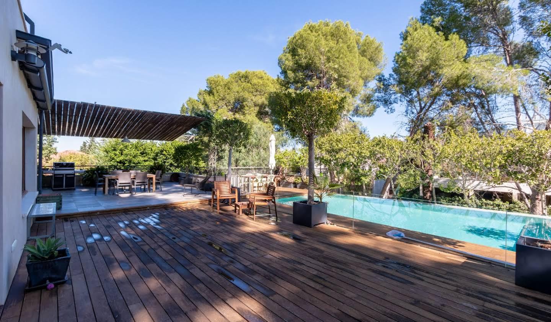 Chalet avec terrasse The Alberca
