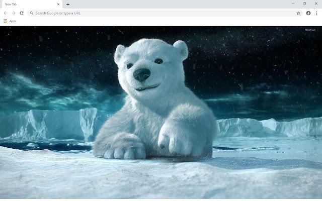 Polar Bears Wallpapers and New Tab