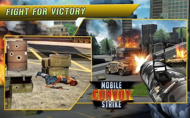 Mobile Gunner Convoy Strike screenshot