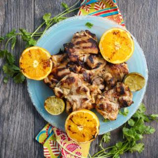 Margarita-Brined Chicken Thighs.