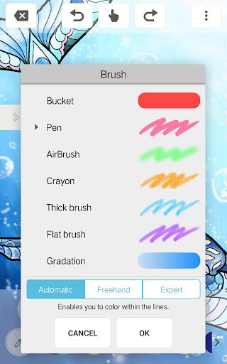 MediBang Colors coloring book 1.0.4 screenshots 3
