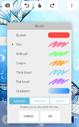 MediBang Colors Coloring Book APK Screenshot Thumbnail 3