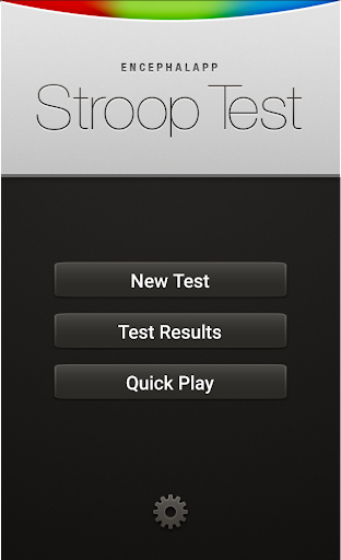 EncephalApp - Stroop Test