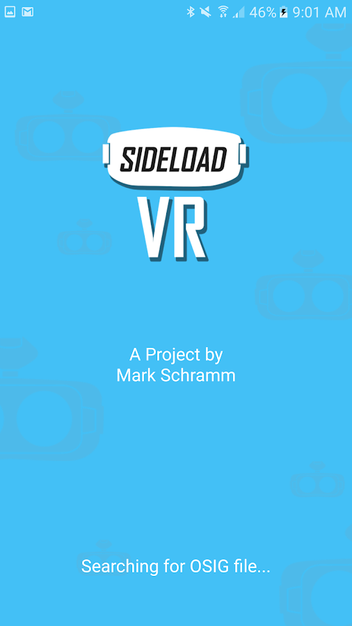 SideloadVR for GearVR- screenshot