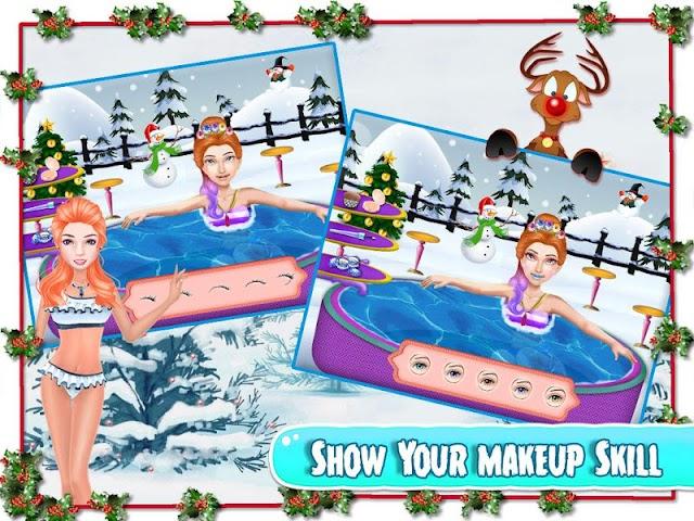 android Christmas Girlfriend Spa Screenshot 2