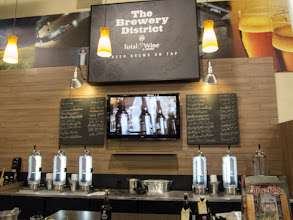 Photo: Our local Total Wine just opened a growler station. This is great news because I can now stop by on my way home from work to pick up some fresh beer!