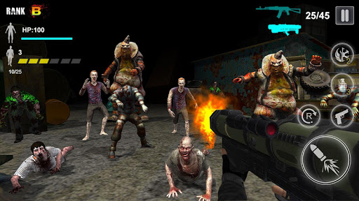 Zombie Shooter - Survival Games  screenshots 3