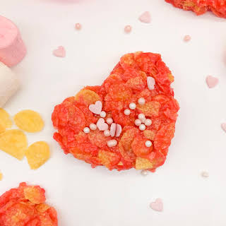 Marshmallow Cornflake Hearts.