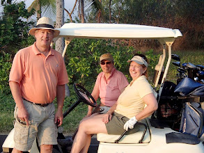 Photo: I met and enjoyed the company of Ken Walk and Mary Klix at Makalei Golf Course, and we agreed to play again at Kona Country Club. Ken and Mary are from St. Louis, Mo.