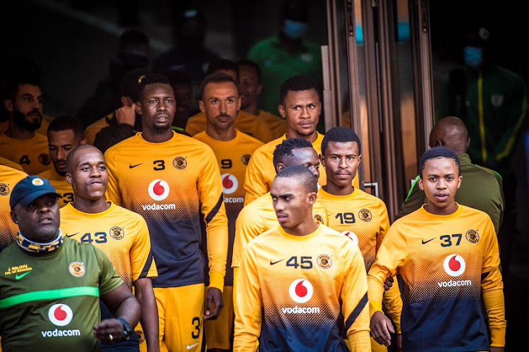 Kaizer Chiefs players.