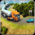 Offroad Oil Tanker Transporter Truck: Road Train icon
