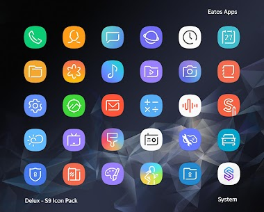 Delux – S9 Icon Pack v2.0.9 [Patched] APK 2