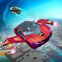 Futuristic Flying Car Racer icon