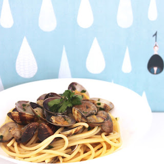 Spaghetti with Clams – Pasta alle Vongole.