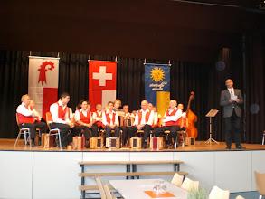 Photo: Predigt durch Herr Pfarrer Enz aus Rümlingen