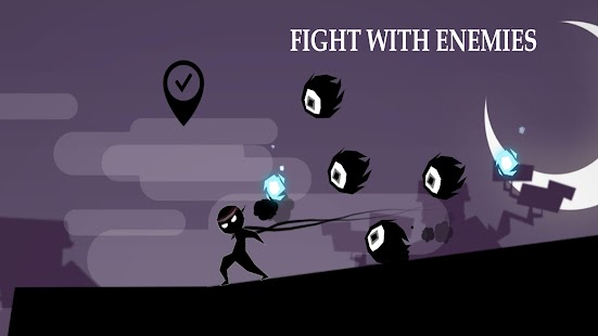 Stickman: Shadow Adventure - náhled