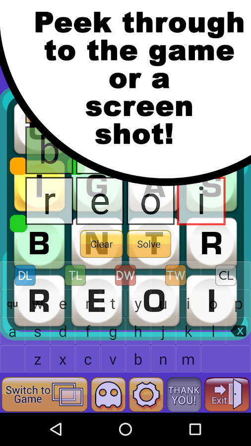 Boggle Cheat for Friends- screenshot