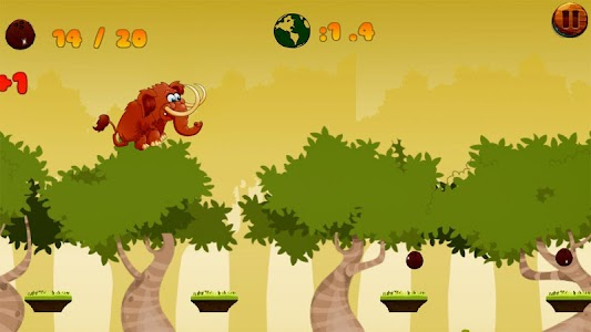 Jungle Mammoth Run screenshot 2