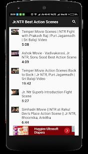 Jr.NTR Best Action Scenes - náhled