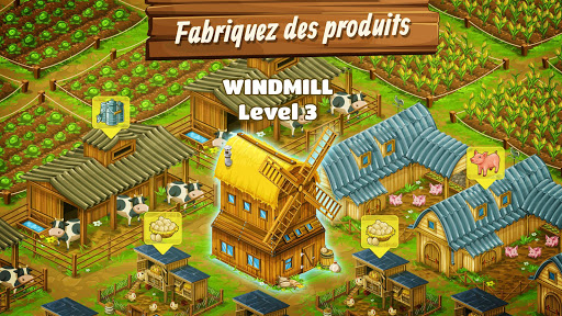 Télécharger Big Farm: Mobile Harvest | jeu de ferme gratuit apk mod screenshots 2