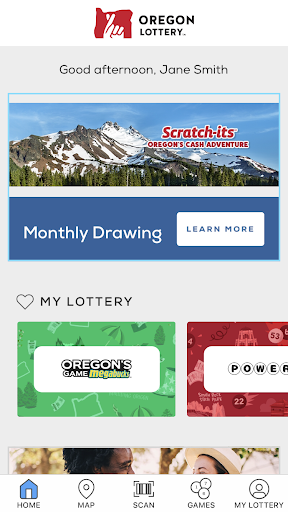Oregon Lottery - screenshot