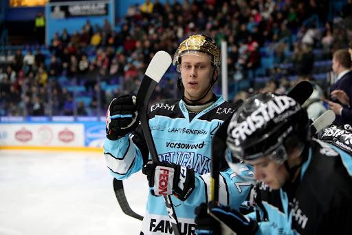 Jesse Ylönen lähtee katkaisemaan lauantaina 10 ottelun maalitonta putkeaan. (Kuva: Tomi Natri)