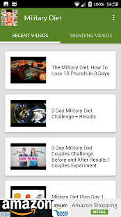 Military Diet lose weight fast for PC-Windows 7,8,10 and Mac apk screenshot 2