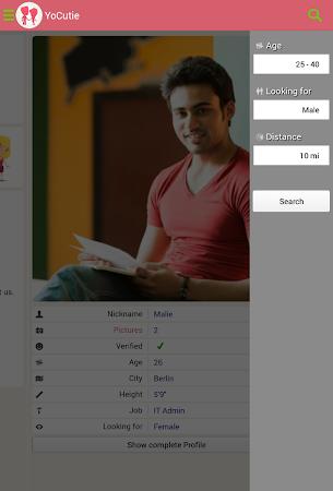 YoCutie ♥ 100% Free Dating App 1.131 screenshot 562428