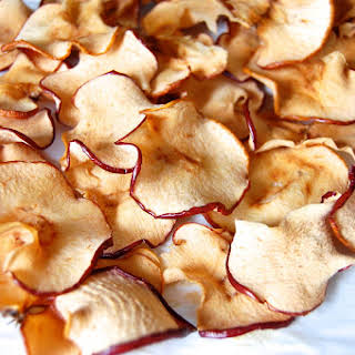 Easy Baked Apple Chips.