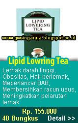 lipid lowring tea
