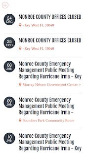 Monroe County FL- screenshot thumbnail