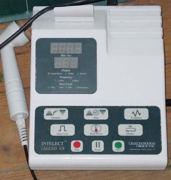 Portable ultrasound equipment