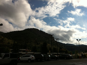 Photo: Idaho Springs! Getting breakfast and water.