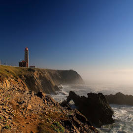 Old lighthouse by Gil Reis - Buildings & Architecture Public & Historical ( sky, places, art, nature, stones, sea, life )