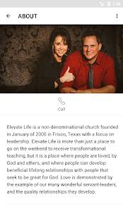 Elevate Life Church App - náhled