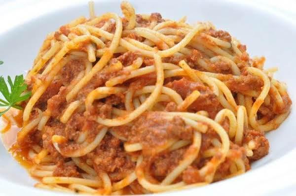 Classic Italian Spaghetti