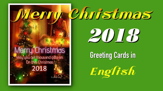 Download Merry Christmas SMS Greeting Cards 2018 Android Apps APK ...