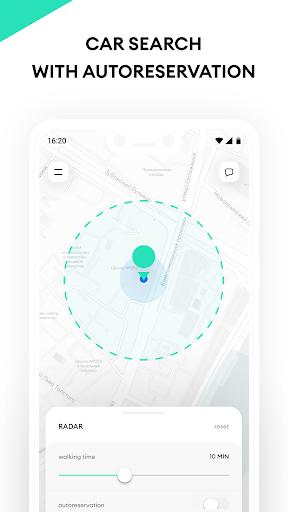 Delimobil u2013 carsharing app 7.20.0, build a026907db Screenshots 5