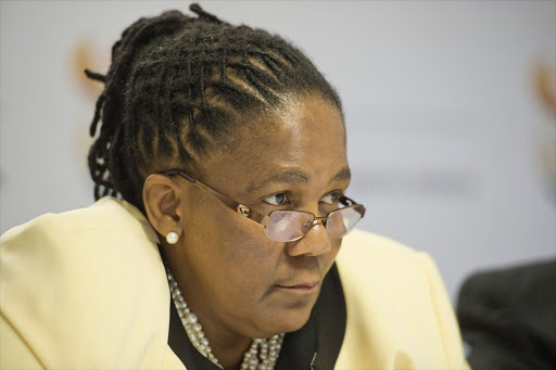 Minister of Transport Dipuo Peters